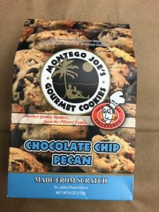 6 oz. Box of Montego Joe's Cookies
