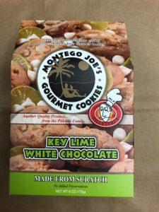 2.5 OZ Box of Montego Joe's Cookies